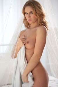 Model Jenny M in Angelic Touch